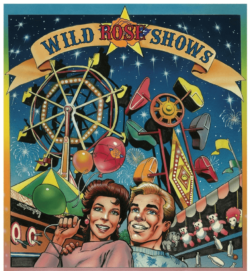 Poster for Wild Rose Shows at Wetaskiwin Mall
