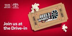 Prairie Toyota Dealers Reels on Wheels Poster